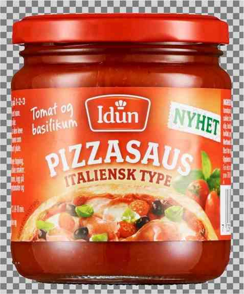 Bilde av Idun pizzasaus italiensk type.