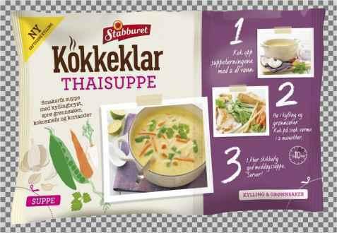 Bilde av Stabburet kokkeklar Thaisuppe.