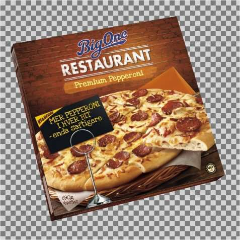 Bilde av Big One Restaurant Premium Pepperoni.