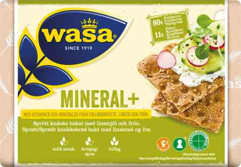 Bilde av Wasa mineral pluss.