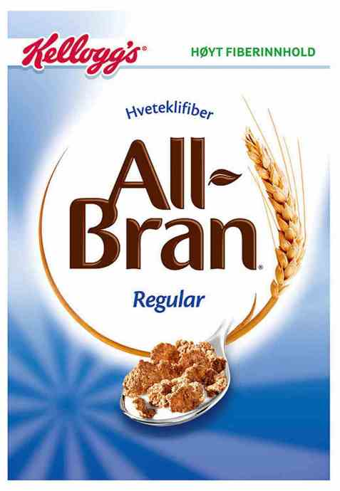 Bilde av Kelloggs all bran regular.