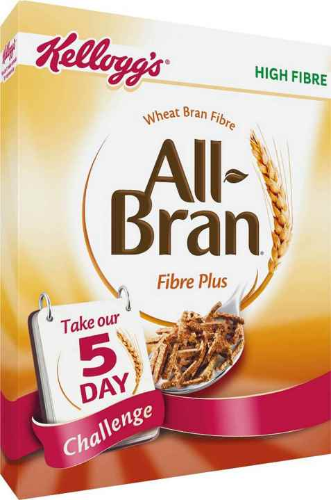 Bilde av Kelloggs all bran plus.