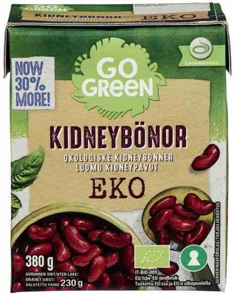 Bilde av Gogreen økologiske kidneybønner.