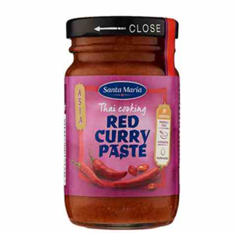 Bilde av Santa Maria red curry paste.
