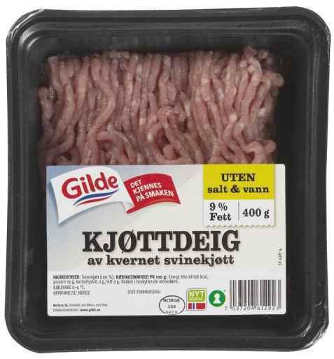 Bilde av Gilde go og mager kjøttdeig av svin.