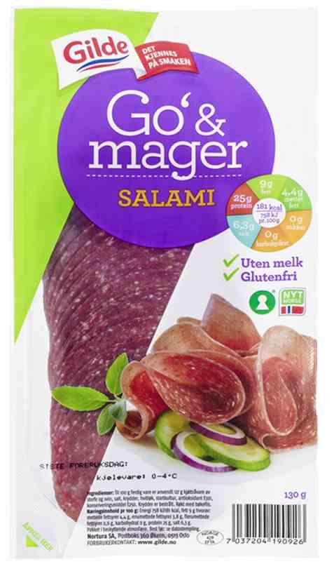 Bilde av Gilde Go og Mager salami.