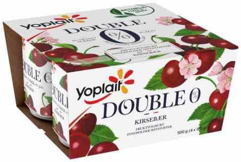 Bilde av Yoplait Dobbel 0% Kirsebær.