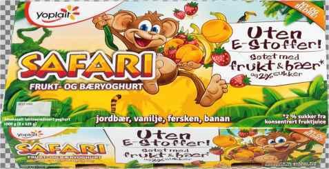 Bilde av Yoplait Safari Banan.