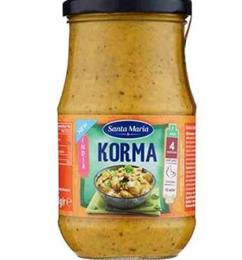 Bilde av Santa Maria Korma Cooking Sauce.