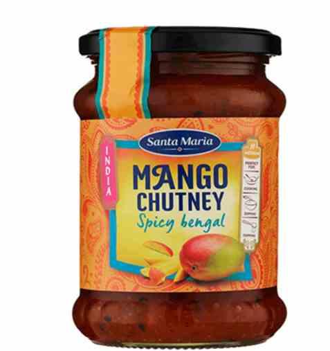 Bilde av Santa Maria Mango Chutney Spicy Bengal.