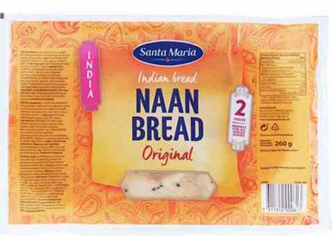 Bilde av Santa Maria Naan Bread.