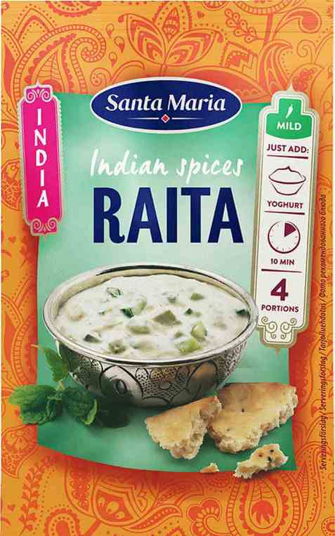 Bilde av Santa Maria Raita Spice Mix.