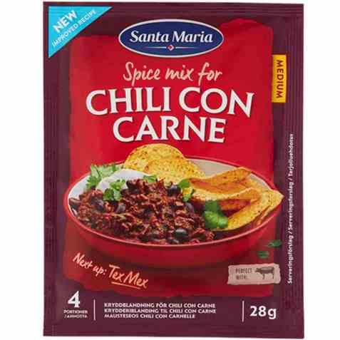 Bilde av Santa Maria Chili Con Carne Spice Mix.