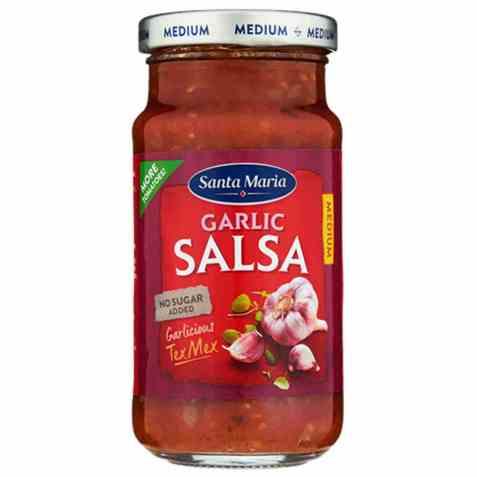 Bilde av Santa maria Garlic Salsa Medium.
