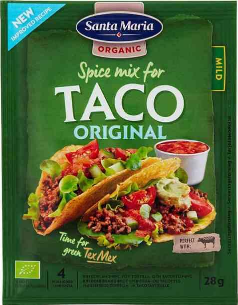 Bilde av Santa Maria Organic Taco Spice Mix.