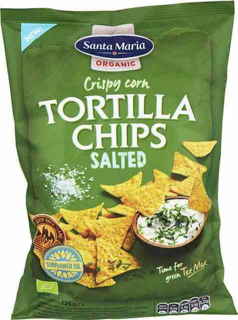 Bilde av Santa maria Organic Tortilla Chips Salted.