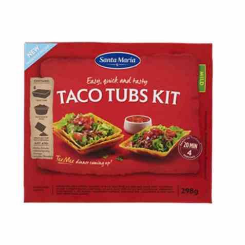 Bilde av Santa maria Taco tubs dinner kit.