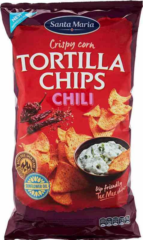 Bilde av Santa maria Tortilla Chips Chili.