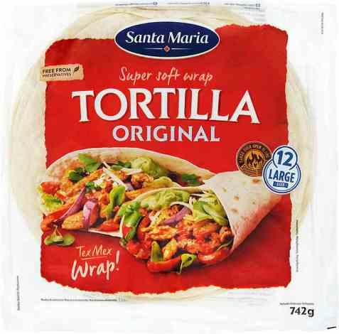 Bilde av Santa maria Wrap Tortilla Original.
