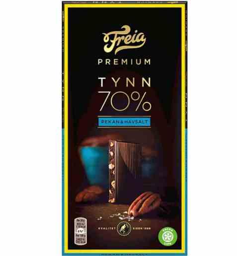 Bilde av Freia Premium 70% Pekan & Havsalt.