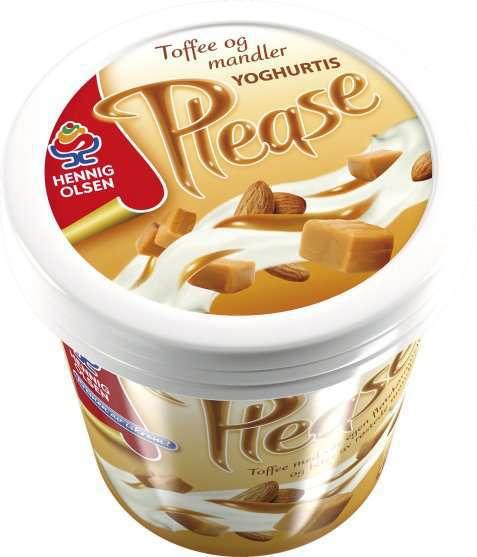 Bilde av Hennig Olsen please toffee karamell.