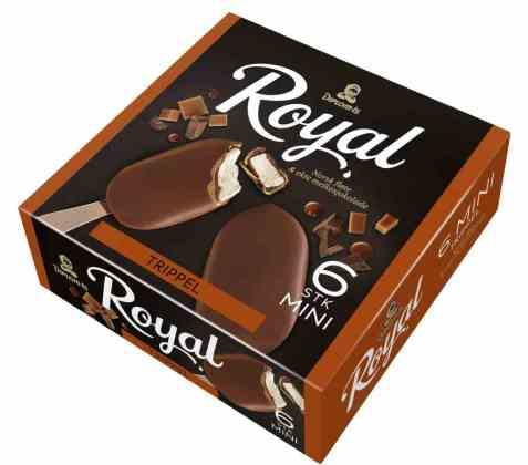 Bilde av Diplom-is royal trippel mini.