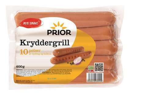 Bilde av Prior kryddergrill kylling-kalkun.