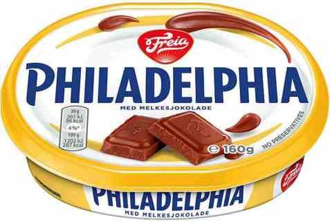 Bilde av Philadelphia med melkesjokolade.