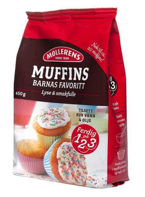 Bilde av Møllerens muffins.