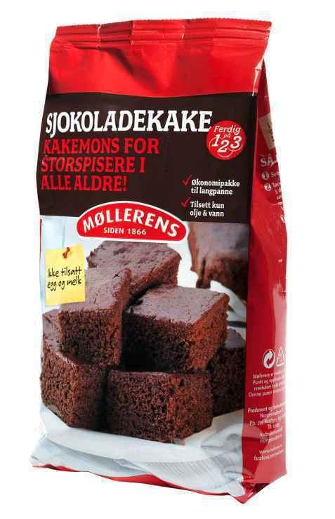 Bilde av Møllerens sjokoladekake.