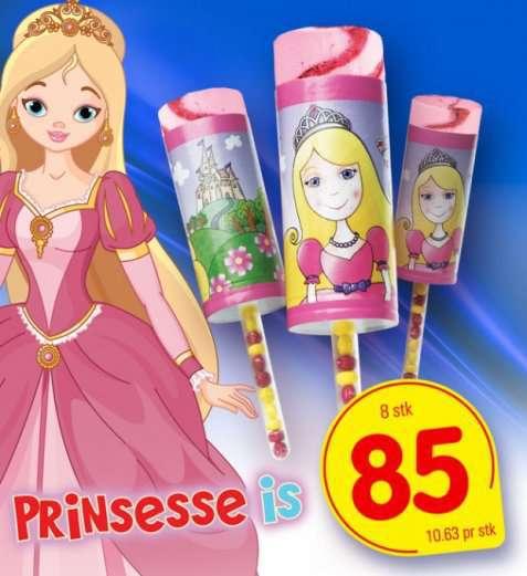 Bilde av Isbilen prinsesseis.