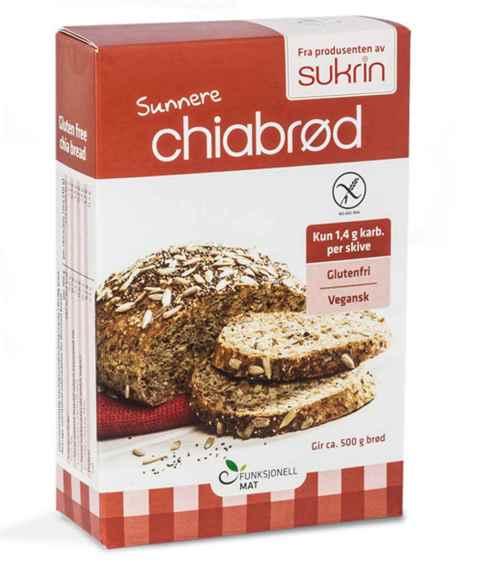 Bilde av Funksjonell mat sunnere chiabrød.