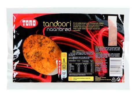 Bilde av Toro tandoori naanbrød.