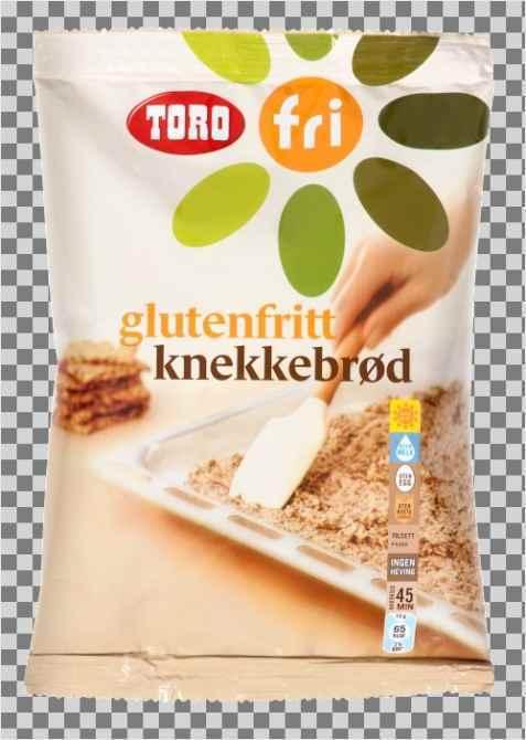 Bilde av Knekkebrød, glutenfritt, av pulver, Toro.