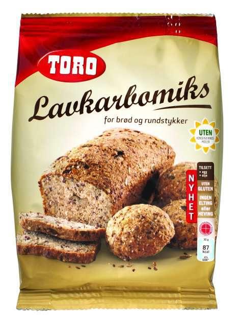 Bilde av Toro lavkarbomiks for brød og rundstykker.