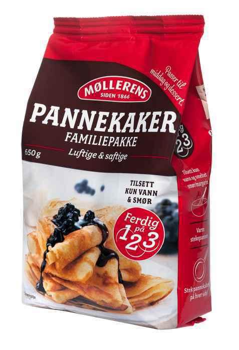 Bilde av Møllerens pannekaker.