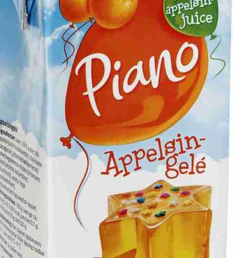 Bilde av Tine Piano appelsingele.