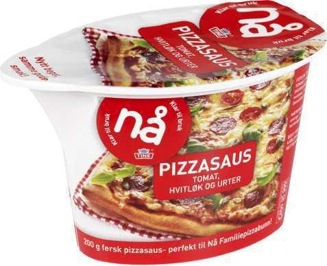 Bilde av Tine Nå Pizzasaus Tomat.