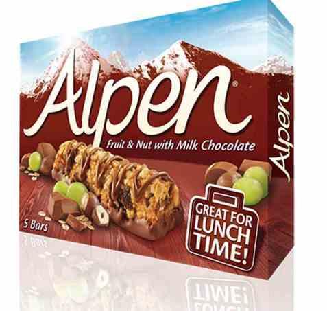 Bilde av Weetabix alpen fruit nut og chocolate bar.