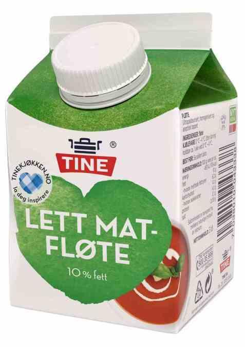 Bilde av TINE lett Matfløte.
