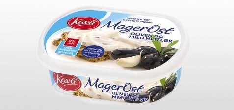 Bilde av Kavli Magerost Oliven og mild hvitløk.