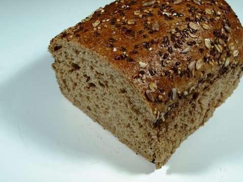 Bilde av Mesterbakeren sammenbakt kornbrød.
