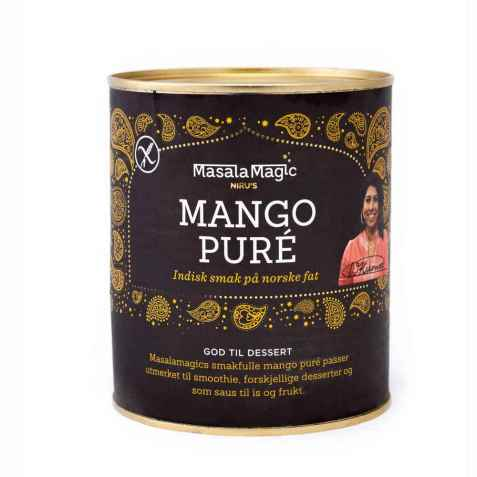 Bilde av Masalamagic Nirus mango puré.