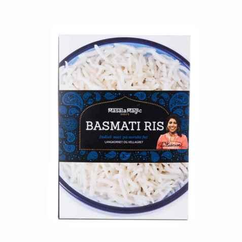 Bilde av Masalamagic Nirus basmati ris.