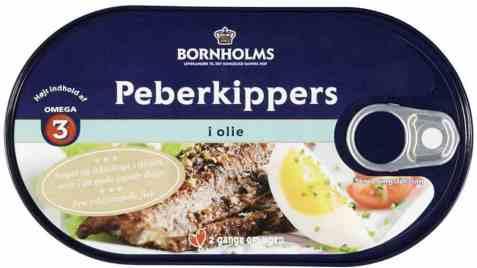 Bilde av Bornholms pepperkippers i olje.