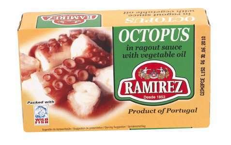 Bilde av Ramirez octopus i ragusaus.
