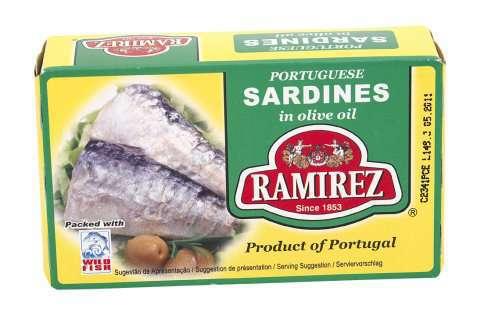 Bilde av Ramirez sardiner i olivenolje.