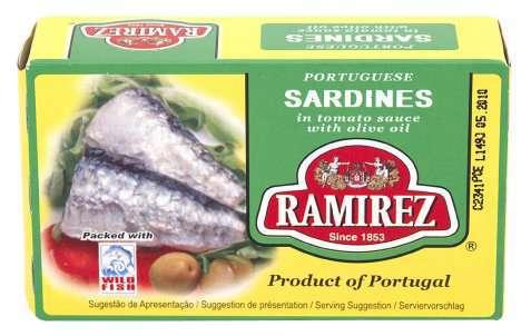 Bilde av Ramirez sardiner i tomatsaus.