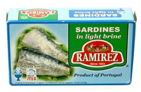 Bilde av Ramirez sardiner naturell.