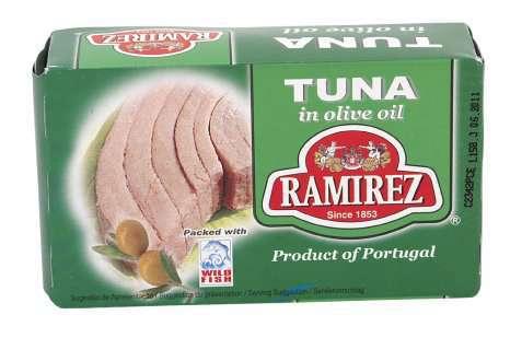 Bilde av Ramirez tunfisk i olivenolje.